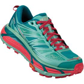 Hoka One One W's Mafate Speed 2 Running Shoes canton/green-blue slate